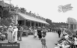 Madeira Cove And The Bandstand 1923, Weston-Super-Mare