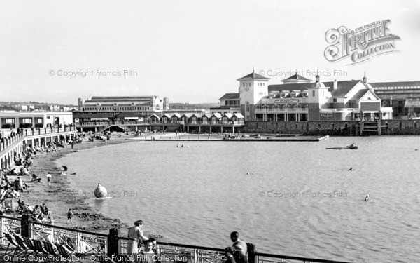 Photo of Weston Super Mare, Marine Lake 1939