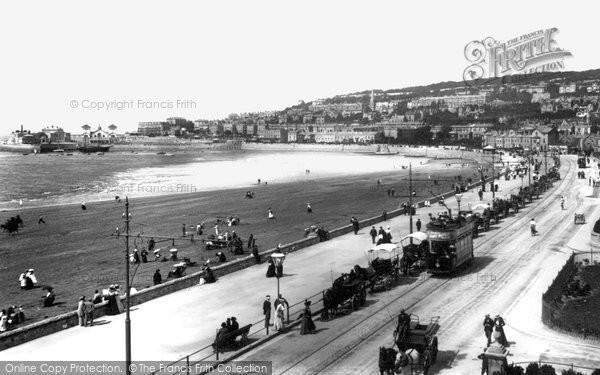 Photo of Weston Super Mare, Marine Parade 1902