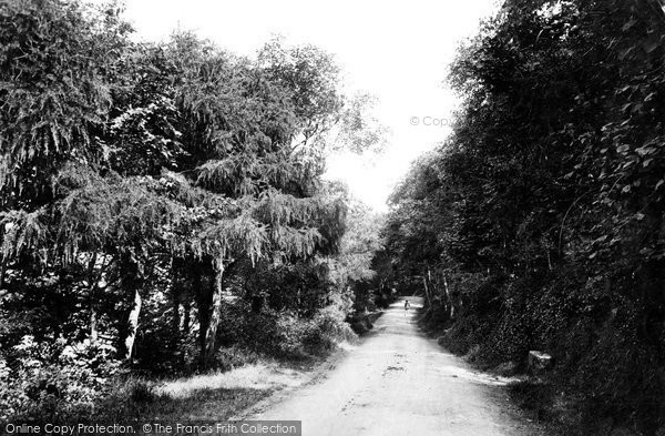 Photo of Weston Super Mare, On Kewstoke Road 1887