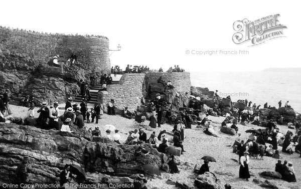 Photo of Weston Super Mare, On The Beach 1896