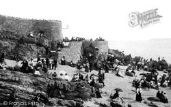 Weston-Super-Mare, On The Beach 1896
