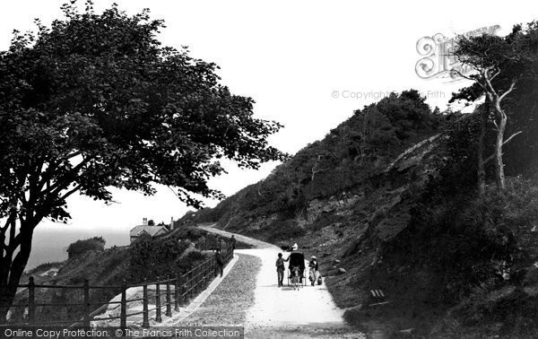 Photo of Weston Super Mare, On The Kewstoke Road 1887