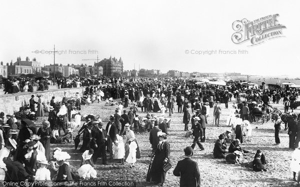 Photo of Weston Super Mare, On The Sands 1902