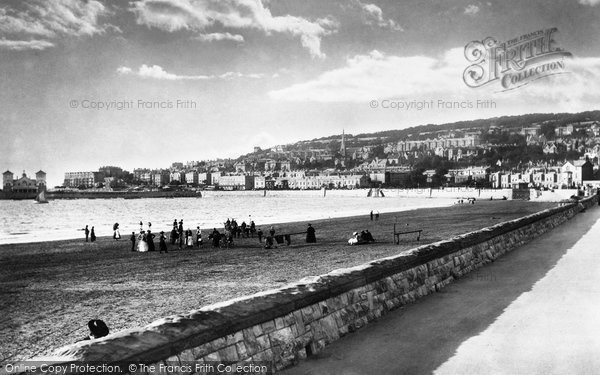 Photo of Weston Super Mare, Parade 1901