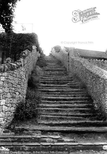 Photo of Weston Super Mare, Roman Steps 1913