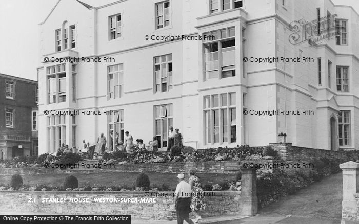 Photo of Weston Super Mare, Stanley House c.1950