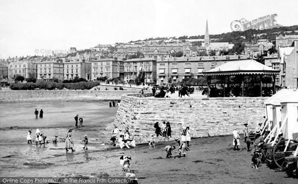 Photo of Weston Super Mare, The Beach 1887
