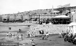 Weston-Super-Mare, The Beach 1887