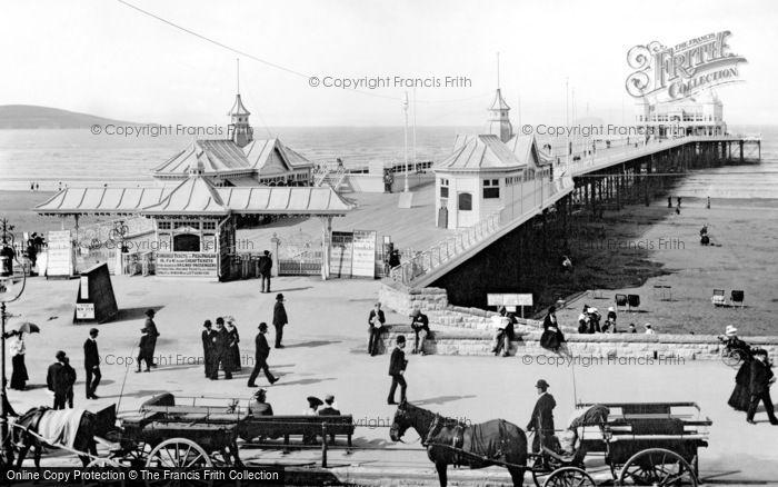 Photo of Weston Super Mare, The Grand Pier 1904
