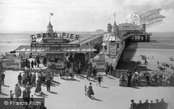 The Grand Pier c.1955, Weston-Super-Mare