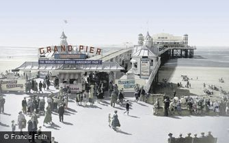 Weston-super-Mare, the Grand Pier c1955