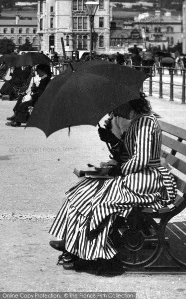 Photo of Weston Super Mare, The Latest Fashion 1887