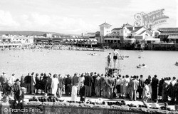 The Marine Lake c.1950, Weston-Super-Mare