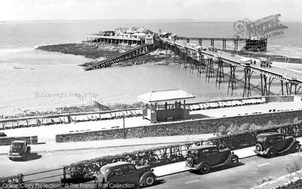 Photo of Weston Super Mare, The Old Pier c.1955