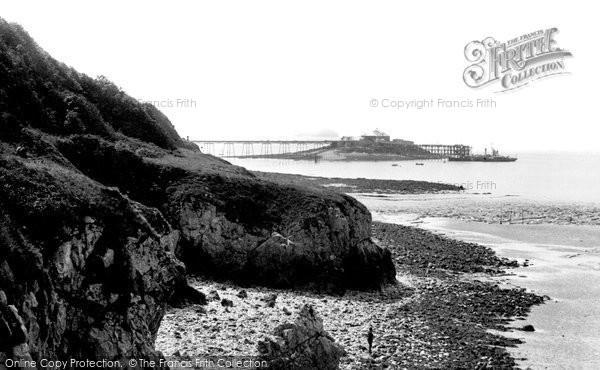 Photo of Weston Super Mare, The Pier 1887