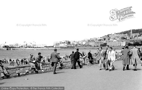Photo of Weston Super Mare, The Promenade c.1939