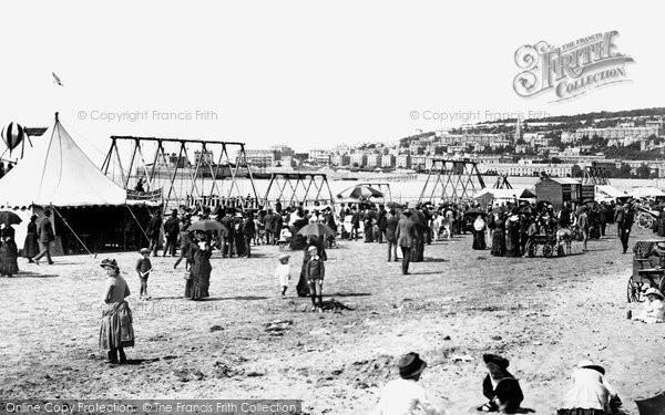 Photo of Weston Super Mare, The Sands 1887