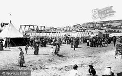 Weston-Super-Mare, The Sands 1887