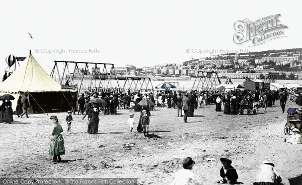 Photo of Weston Super Mare, The Sands 1887