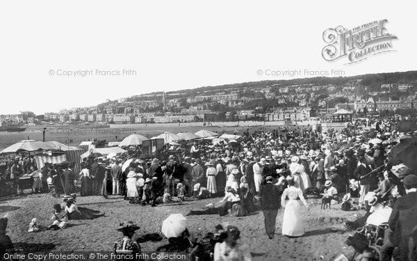Photo of Weston Super Mare, The Sands 1902