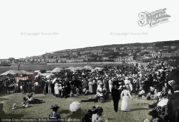 Photo of Weston Super Mare, The Sands 1902