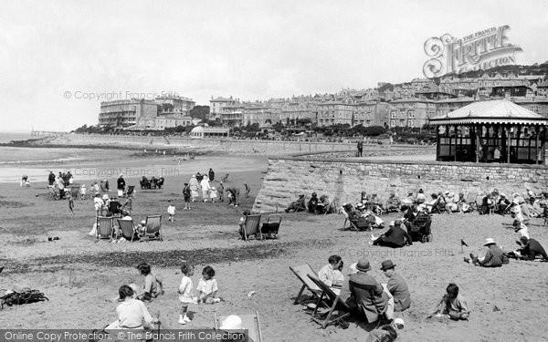 Photo of Weston Super Mare, The Sands 1923