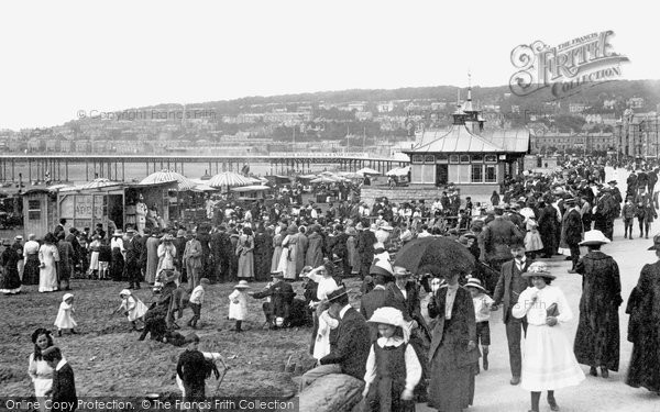 Photo of Weston Super Mare, The Sands And The Pier 1913