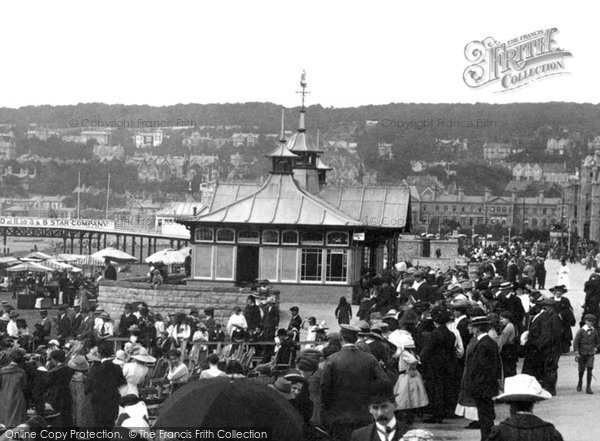 Photo of Weston Super Mare, The Shelter 1913