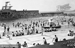 The Swimming Pool c.1950, Weston-Super-Mare