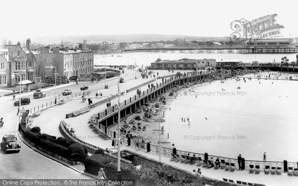 Photo of Weston Super Mare, The Two Bays c.1950