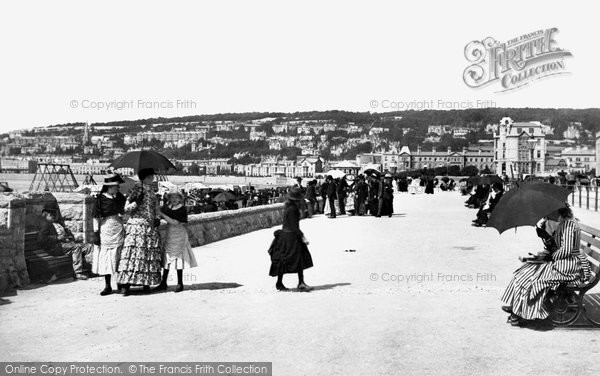 Photo of Weston Super Mare, Victoria Parade 1887