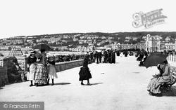 Weston-Super-Mare, Victoria Parade 1887