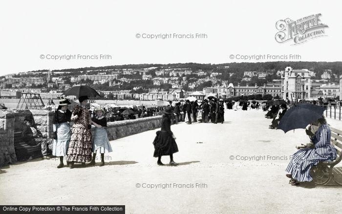 Photo of Weston Super Mare, Victoria Parade 1887