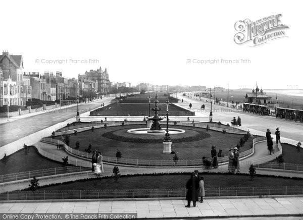 Photo of Weston Super Mare, View From Huntley's Beach Hotel c.1913