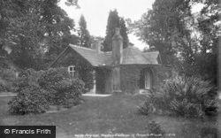 Weston Under Lizard, Cottage In Temple Woods 1900