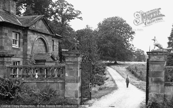 Photo of Weston Under Lizard, Lichfield Lodge c.1955