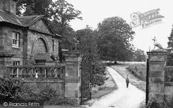 Weston Under Lizard, Lichfield Lodge c.1955