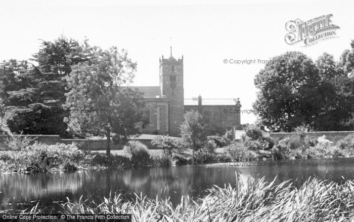 Photo of Weston Under Lizard, St Andrew's Church c.1955