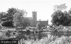 Weston Under Lizard, St Andrew's Church c.1955