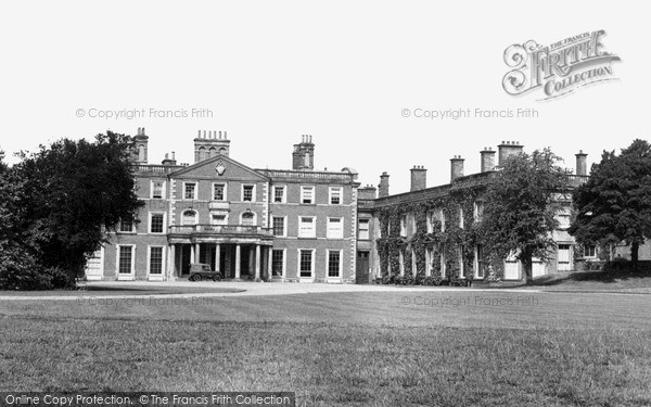 Photo of Weston Under Lizard, The Hall, Carriage Ring c.1955