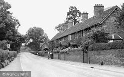 Weston Under Lizard, The Village c.1955