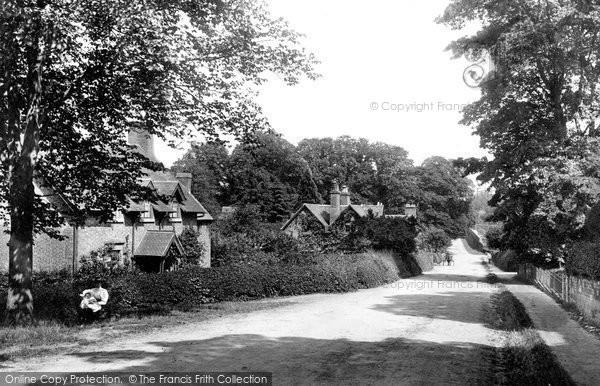 Photo of Weston Under Lizard, Village 1896