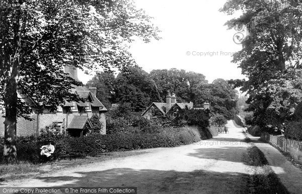Photo of Weston Under Lizard, Village 1896