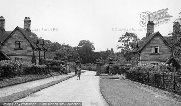 Photo of Weston Under Lizard, Village Lodges c.1955