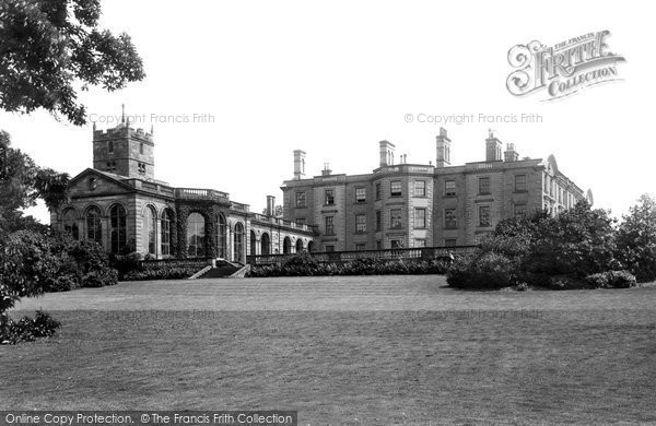 Photo of Weston Under Lizard, Weston Hall And Church 1896