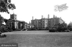 Weston Under Lizard, Weston Hall And Church 1896