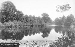 Weston Under Lizard, Weston Hall, The Lake 1898