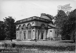 Weston Under Lizard, Weston Hall, The Temple 1898
