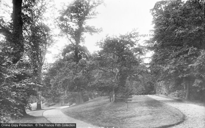 Photo of Weston Under Lizard, Weston Park 1900